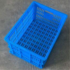 供應 塑料周轉筐 450*235 PE螺絲包裝筐 服裝 蔬菜塑膠筐子