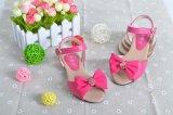 春款女童涼鞋品牌童皮鞋真皮韓國時尚蝴蝶結公主鞋