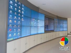 46寸三星液晶拼接屏 5.3MM电视墙 超窄边接缝大屏幕