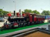 上海大型美陈蒸汽火车头模型出租、火车头制作租赁出售