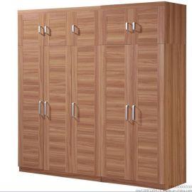 板式简易宜家衣柜大衣柜实木质组合组装衣柜三门四门衣柜衣橱家具