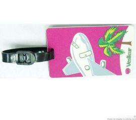 PVC胶行李吊牌