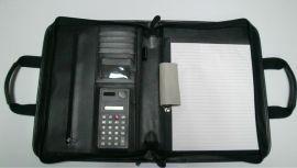 珀非皮具 公文包 经理包**包 多功能PU文件包 带纸张 带计算器