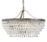 北歐宜家簡約現代燈具 美式鄉村水晶克拉客廳臥室餐廳吊燈