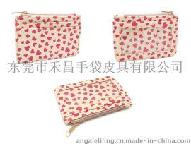 2015新款韩版潮钱包女短款可爱女孩学生印花零钱包