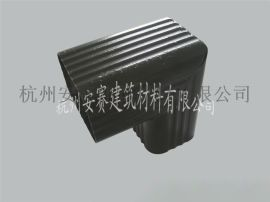 供应浙江湖州安吉安赛牌pvc落水系统彩铝天沟檐槽