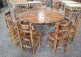 醉鹅火锅桌椅炭烧木台凳顺德碳烧仿古风格餐桌椅扎啤广场桌椅厂家