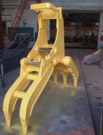 小松PC160挖掘机抓木器厂家供应