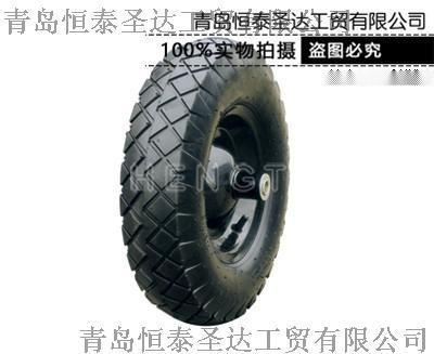 廠家供應 手推車輪胎 發泡輪PU 氣胎輪 實心輪
