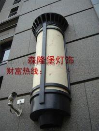 酒店大厦外墙云石壁灯,  停车场透光石壁灯,大型壁灯定制,专业非标定制各类工程壁灯,异形灯