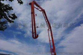 外贸出口小型混凝土泵车32m鸿达重工制造