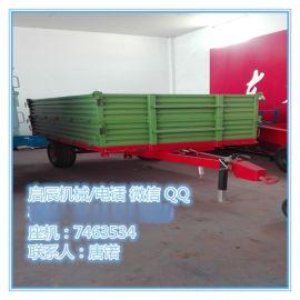 启辰厂家供应优质新型拖车 定制拖车 5吨自卸拖车 批发农用挂车
