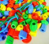 兒童穿繩串珠積木 幼批發兒園桌面竄竄珠啓蒙智力 寶寶益智積木玩具