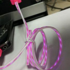 USB追光发光充电数据线