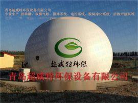 沼氣收集與綜合利用項目專用800立方雙膜氣櫃拼裝罐