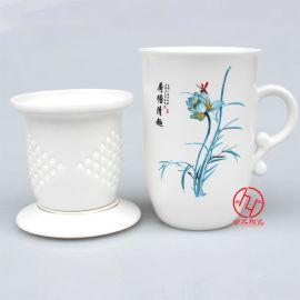 高温景德镇陶瓷杯子定制