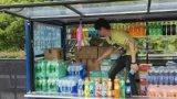 上海外滩景区游览观光电动流动售卖车