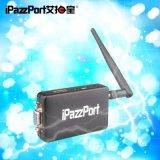 ipazzport WiFi无线VGA+HDMI同屏器Miracast推送宝airplay投影高清传输器