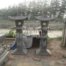 石雕石灯 灯塔 日式雕刻石灯 寺庙装饰灯