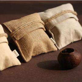 茶叶麻布袋定制 面粉麻布袋生厂家 麻布手提袋定做