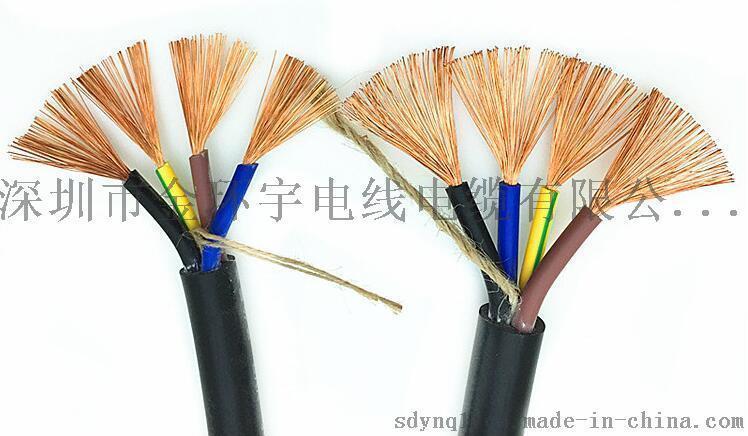 金环宇电线电缆ZR-YJV 4x1.5mm2国标软护套线