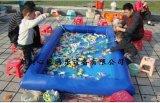 儿童充气水池水上漂浮物游乐项目