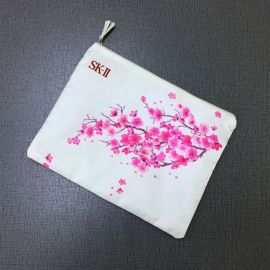厂家定制双层布袋 移动电源手机收纳袋 礼品零钱收纳袋印花文件袋