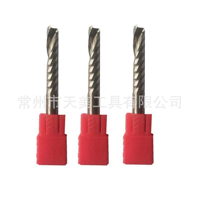 廠家直銷 硬質合金超硬刀具鋁用單刃銑刀 鎢鋼材質 接受非標定製