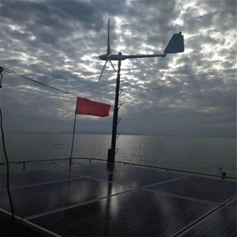 山东出口小型5000瓦风力发电机供应5千瓦风力发电机