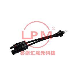 苏州汇成元电子供Amphenol安费诺BU-12BFFM-LL7AXX替代品防水线束