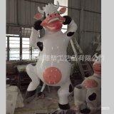 玻璃鋼鬥牛士雕塑組合來圖定製大型玻璃鋼公仔動物雕塑