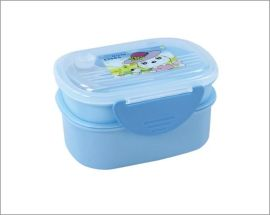 双层微波保鲜饭盒(YWT-6350-1)
