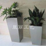 不鏽鋼啞光面花盆花箱 方形花箱定製廠家 金屬不鏽鋼花箱花盆花器