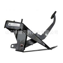中國重汽豪沃輕卡統帥悍將離合器踏板帶支架LG9704230150原廠圖片