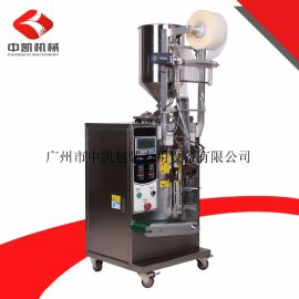 【厂家底价促销】广州液体四边封袋装果味包装机,液体酱料包装机