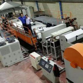家苏州金韦尔机械有限公司石头纸纵向拉伸生产线设备
