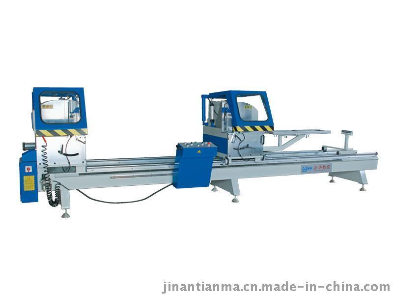 濟南正華500*4200鋁合金門窗加工機器