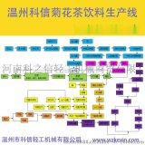 全自動菊花茶飲料生產線|菊花茶飲料灌裝機|成套菊花茶飲料設備