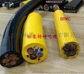 凿岩机用拖拽耐磨移动橡胶卷筒电缆