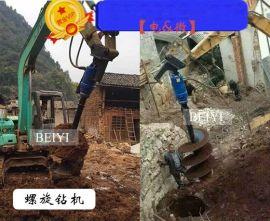 小型螺旋钻机-挖掘机液压钻机 进口马达