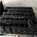 西城铸铁砝码现货 25公斤玻璃厂配重标准砝码