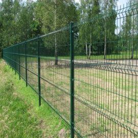 双边护栏网 框架护栏网 三角折弯护栏网
