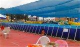 江西宜春移動式支架水池游泳池