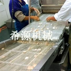 小型肉制品油炸生产线 肉制品上浆裹粉油炸成套设备