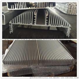 大型工矿灯铝合金散热、大功率工业照明铝合金型材散热器加工氧化