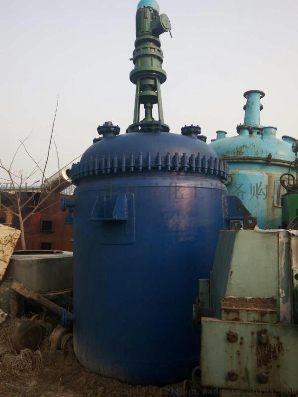 转让二手反应釜 机械化工行业专用不锈钢反应设备 二手反应釜
