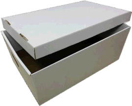 3层和5层高质量的瓦楞搬家箱和文件箱