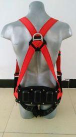 塑料腰板式风电专用安全带(风塔直梯双大钩悬挂风能安全衣)