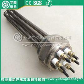 2寸不锈钢丝扣加热管 380V5KW高温加热管 六角丝扣法兰电加热管
