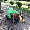 林业用汽油高压喷雾机300L推车式打药机双出水管喷药机